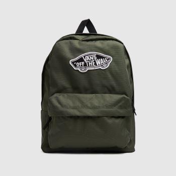 Vans Green Realm Backpack Bags