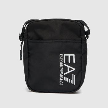 ARMANI Black & White Training Cross Body Bag Accessory