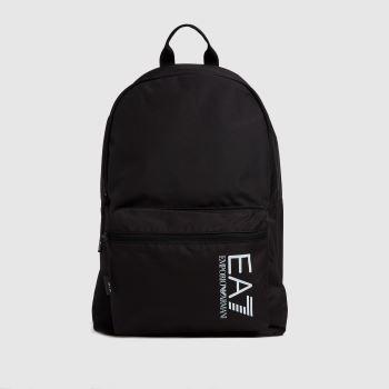 ARMANI Black Training Backpack Bags