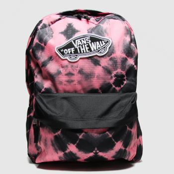Vans Black & Purple Realm Backpack Bags#