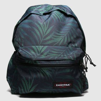 Eastpak Black & Green Padded Zipplr Bags