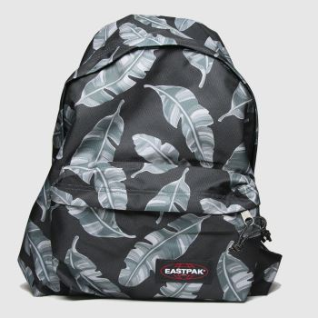 Eastpak Black & Grey Padded Pakr Bags