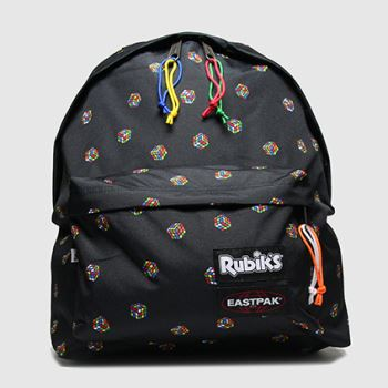 Eastpak black rubiks padded pakr
