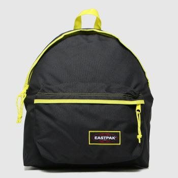 Eastpak Black Kontrast Lime Padded Pakr Bags