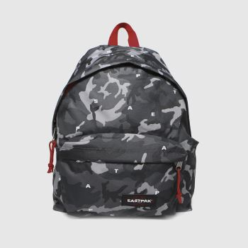 Eastpak Black & Red Padded Pakr Bags