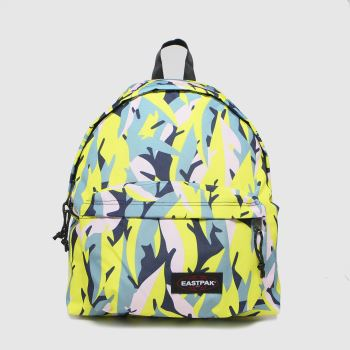 Eastpak Black & Green Leaves Spring Padded Pakr Bags