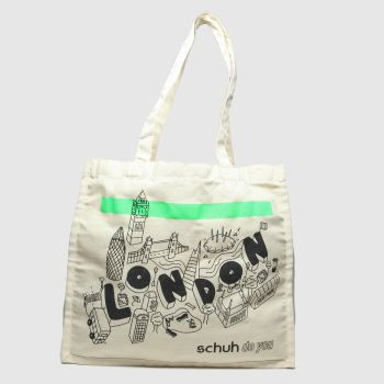 schuh Beige London Jute Bag Bags