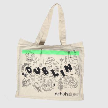 schuh Beige Dublin Jute Bag Bags