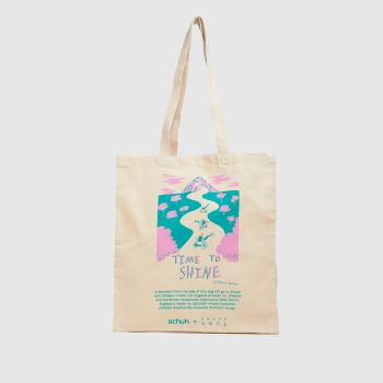 schuh Beige Time To Shine Cotton Bags