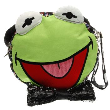 ACCESSORIES IRREGULAR CHOICE BLACK & GREEN DISNEY MUPPETS HIP HOP HAPPY