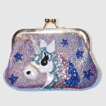 Irregular Choice White & Blue MISTY PURSE Bags