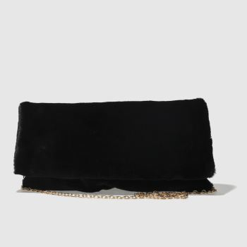 Missguided Black Cuddle Clutch Bag Bags