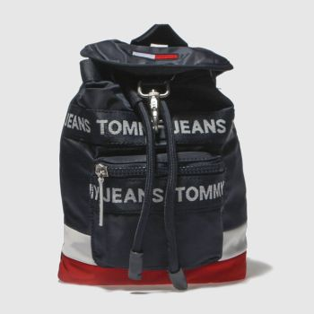 Tommy Hilfiger Navy Tj Heritage Mini Backpack Bags