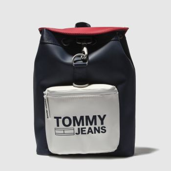 Tommy Hilfiger Navy & White Tj Heritage Mini Bags
