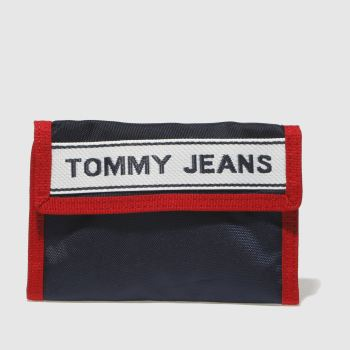 Tommy Hilfiger Navy & Red TJ LOGO CROSSOVER Bags