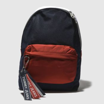 Tommy Hilfiger Navy & Red TJ LOGO TAPE MEDIUM Bags