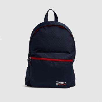 Tommy Hilfiger Navy & Red Tj Original Bumbag Bags