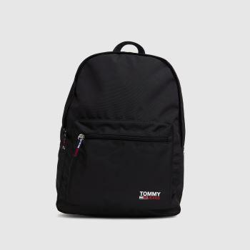 Tommy Hilfiger Black Campus Backpack Bags