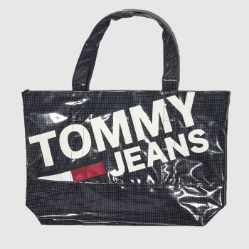 Tommy Hilfiger Navy Tj Summer Tote Mesh Bags