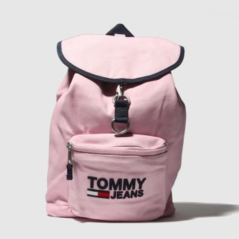 ACCESSORIES TOMMY HILFIGER PINK TJ HERITAGE BACKPACK
