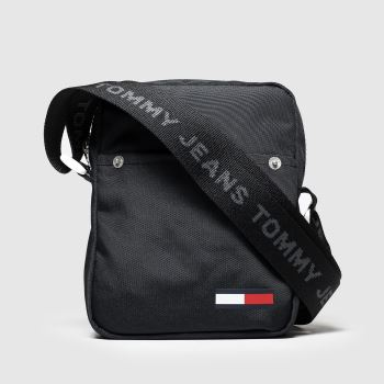 Tommy Hilfiger Black Cool City Mini Reporter Bags