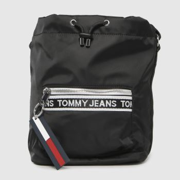 Tommy Hilfiger Black & White Tjw Mini Logo Tape Bags
