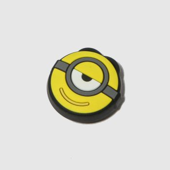 Jibbitz White & Yellow MINIONS STUART Shoe Accessories