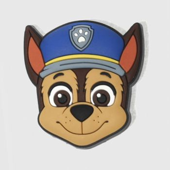 Jibbitz Tan Paw Patrol Chase Shoe Accessories
