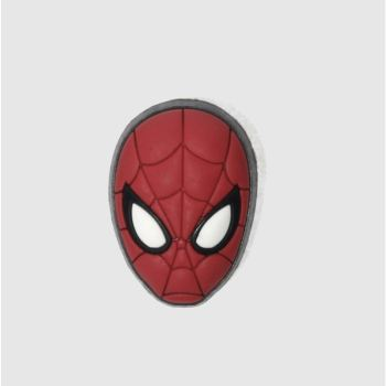 Jibbitz Red Spiderman Mask Shoe Accessories