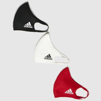 adidas Multi 3 Pack Face Cover Small Accessory