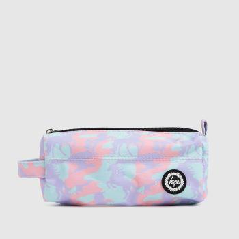 Hype Multi Unicorn Camo Pencil Case Bags