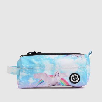 Hype Multi Unicorn Skies Pencil Case Bags