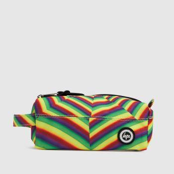 Hype Multi Optical Holo Pencil Case Bags