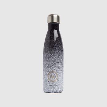 Hype Black & White Mono Speckle Fade Bottle Accessory