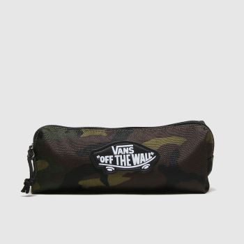 Vans Khaki Kids Otw Pencil Pouch Bags