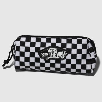 Vans Black & White Kids Off The Wall Pencil Pouch Bags