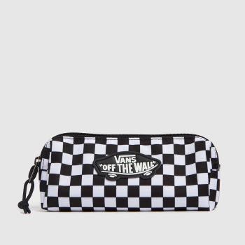 Vans White & Black Otw Pencil Pouch Bags