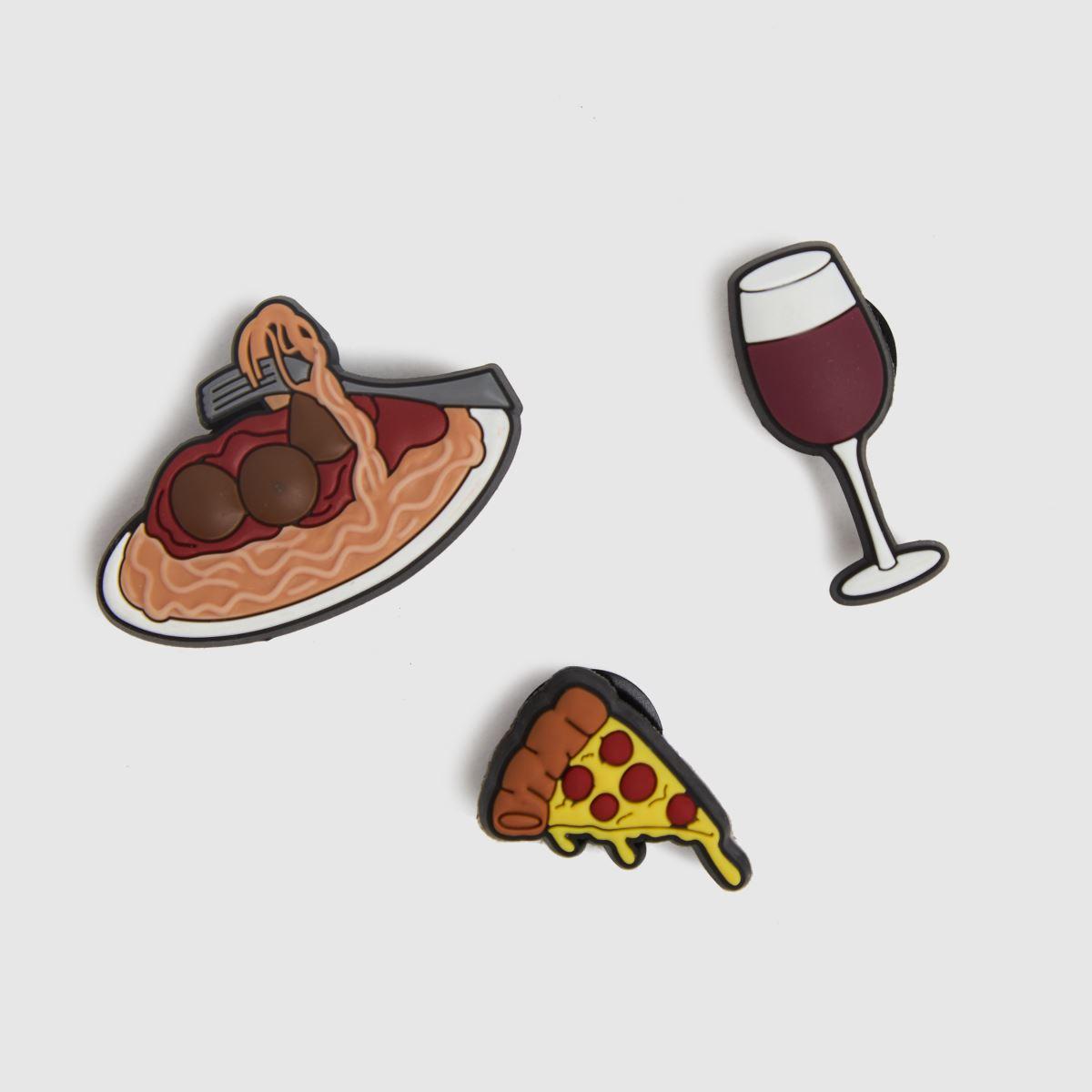 Jibbitz Multi Italian Dinner 3 Pack