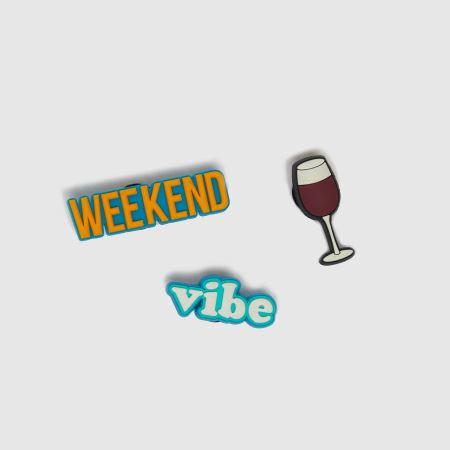 crocs Jibbitz Weekend Vibes 3 Packtitle=