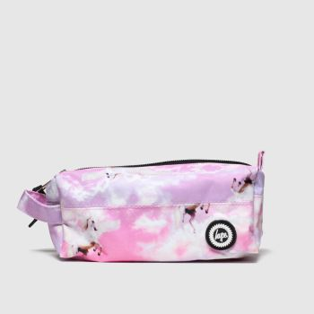 ACCESSORIES HYPE PINK PENCIL CASE
