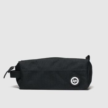 Hype Black Pencil Case Bags