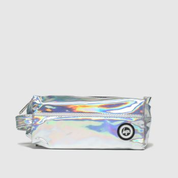 Hype Silver Pencil Case Bags