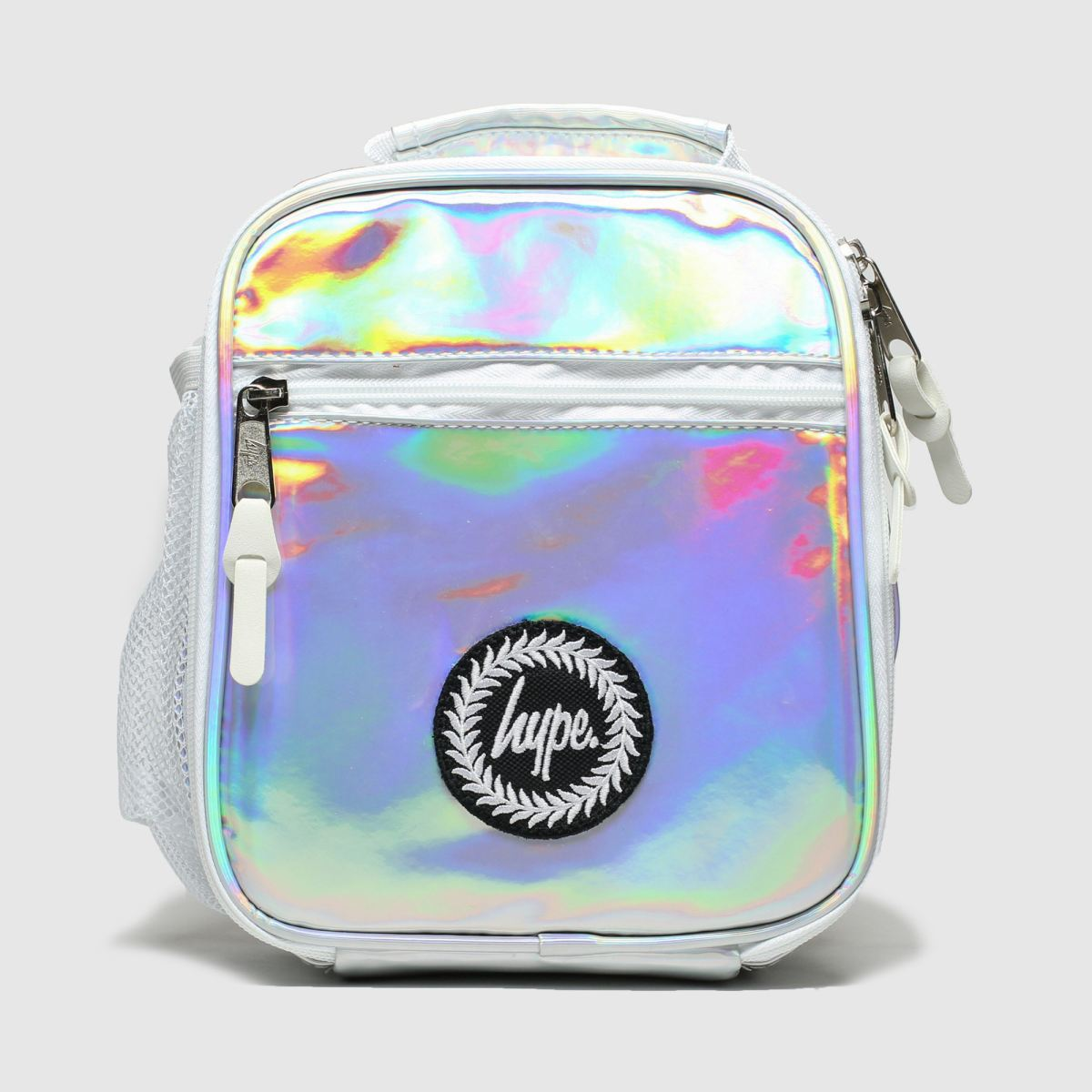 Accessories Hype White & Silver Lunch Bag