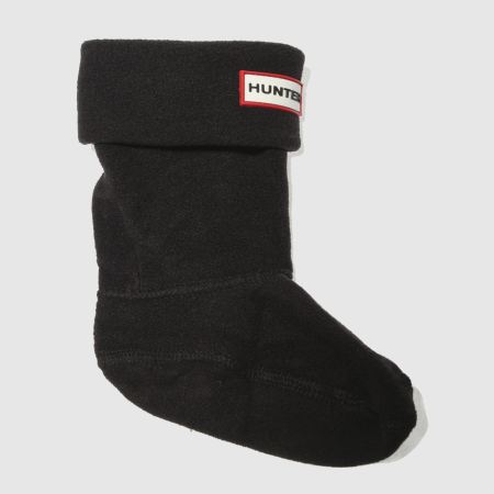 Hunter kids fleece welly 1