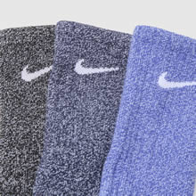 Nike kids cotton crew sock 1