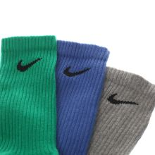 Nike kids cotton crew sock 3 pack 1