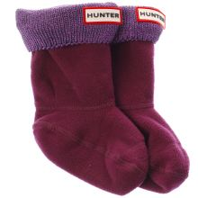 Hunter glitter cuff kids sock 1