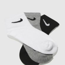 Nike kids 6 pack quarter socks 1