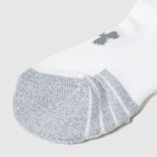 Under Armour Invisible Socks 3 Pack,4 of 4