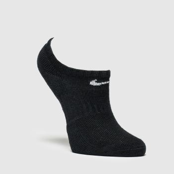 Nike Black & White Kids No Show 3 Pack Socks